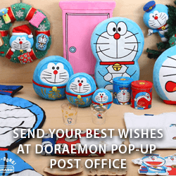 Send your Best Wishes at Doraemon Pop up Post Office