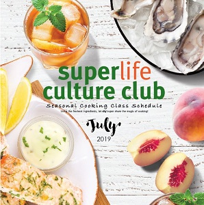 July Cooking Class Schedule @ifc