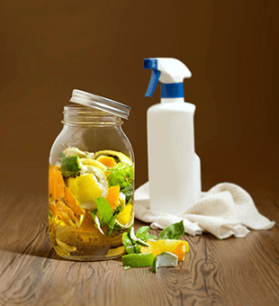 Natural vinegar for cleaning
