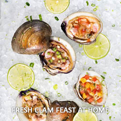 Fresh Clam Feast at Home