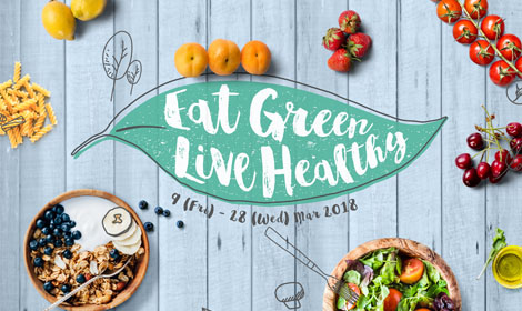 Eat Green Live Healthy