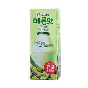 Binggrae Hamimelon Flavour Milk  Drinks 200ml