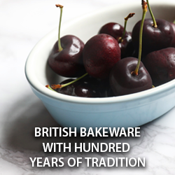 British Bakeware with Hundred Years of Tradition